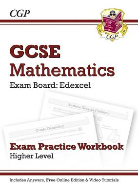 GCSE Maths Edexcel Exam Practice Workbook with Answers & Online Edition: Higher (Paperback)