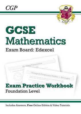 GCSE Maths Edexcel Exam Practice Workbook with Answers & Online EDN: Foundation (A*-G Resits) (Paperback)