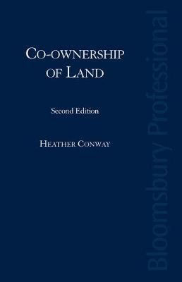 Co-Ownership of Land: Partition Actions and Remedies (Hardback)