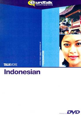 Talk More - Indonesian: Interactive Video DVD Beginners+ (DVD)