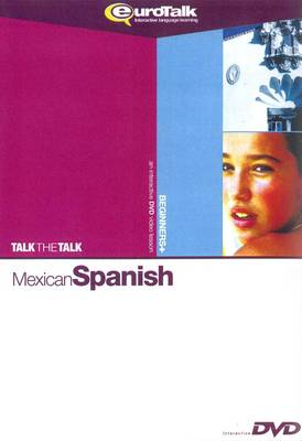 Talk the Talk Mexican Spanish - Interactive Video DVD (DVD)