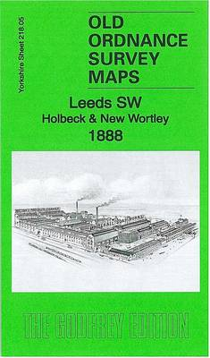 Leeds SW: Holbeck & New Wortley 1888: Yorkshire Sheet 218.05a - Old Ordnance Survey Maps of Yorkshire (Sheet map, folded)
