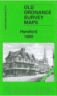 Hereford 1885: Herefordshire Sheet 33.16a - Old Ordnance Survey Maps of Herefordshire (Sheet map, folded)