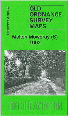 Melton Mowbray (South) 1902: Leicestershire Sheet 20.09 - Old Ordnance Survey Maps of Leicestershire (Sheet map, folded)