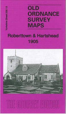 Roberttown & Hartshead 1905: Yorkshire Sheet 232.13 - Old Ordnance Survey Maps of Yorkshire (Sheet map, folded)