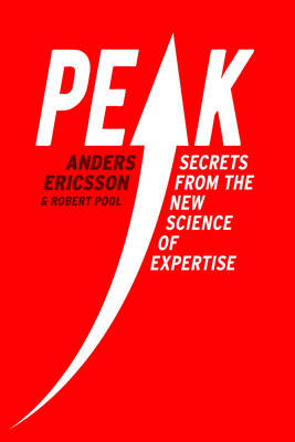 Book cover - Peak: Secrets from the New Science of Expertise
