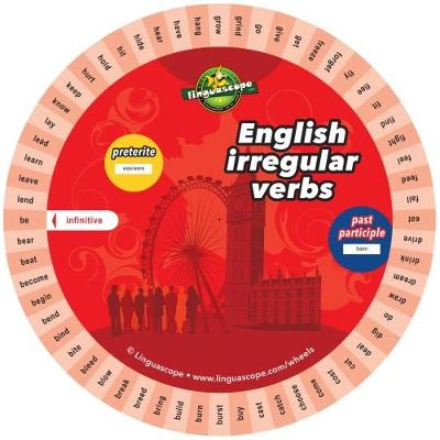 English Verb Wheel (Irregular Verbs) (Other printed item)