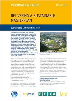 Delivering a Sustainable Masterplan (Pamphlet)