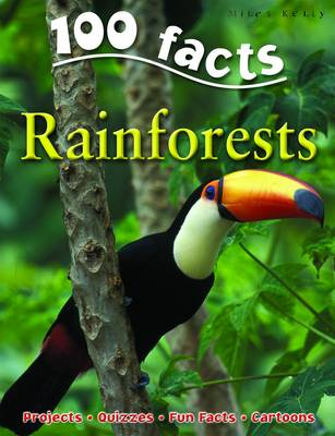 100 Facts on Rainforests - 100 Facts (Paperback)