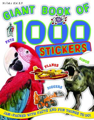 Giant Book of 1000 Stickers - Giant Sticker Book (Paperback)