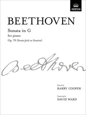 Sonata in G, Op. 79: From Vol. III - Signature Series (ABRSM) (Sheet music)