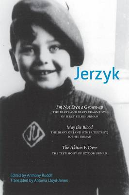 Cover Jerzyk: Diaries, Texts and Testimonies of the Urman Family