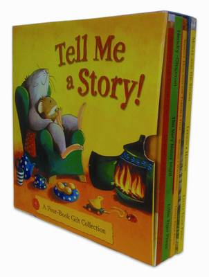 "Tell Me a Story 4 Book Giftset: ""Boswell the Kitchen Cat"", ""The Very Noisy Night"", ""Shaggy Dog and the Terrible Itch"", ""Molly and the Storm"" (Paperback)"