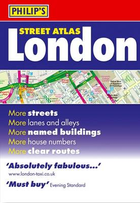 Philip's Street Atlas London: Standard - Philip's Street Atlases (Paperback)