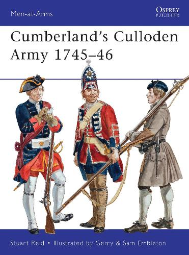 Cumberland's Culloden Army, 1745-46 - Men-at-Arms 483 (Paperback)