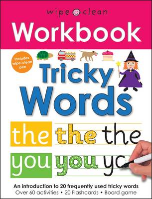 Tricky Words - Wipe Clean Workbooks (Spiral bound)