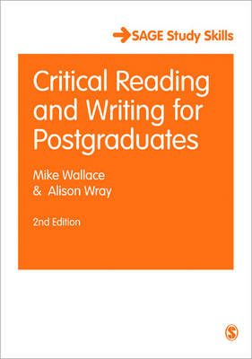 Critical Reading and Writing for Postgraduates - Sage Study Skills Series (Paperback)
