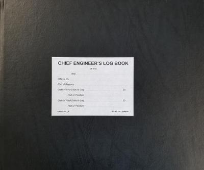Chief Engineer's Log Book No 132 - 3 Months Numbered: Pattern no. 132 (Hardback)