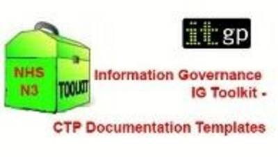 NHS N3 Information Governance IG Toolkit - CTP Documentation Templates (CD-ROM)