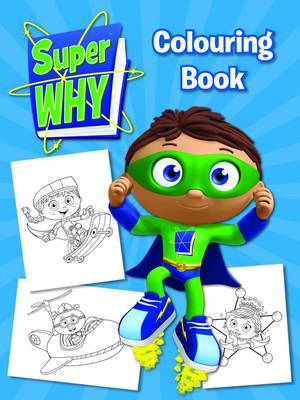 Super Why! Colouring Book (Paperback)
