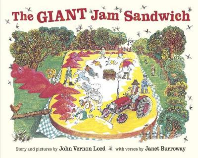 The Giant Jam Sandwich (Paperback)