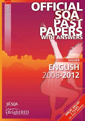 English Higher SQA Past Papers 2012 (Paperback)