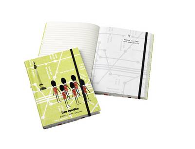 Lisa London Notebook with Pockets (Paperback)