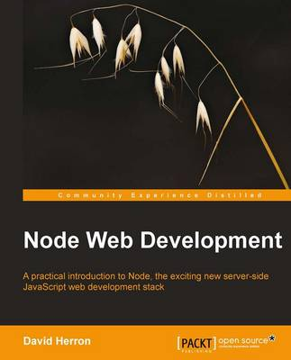 Node Web Development (Paperback)