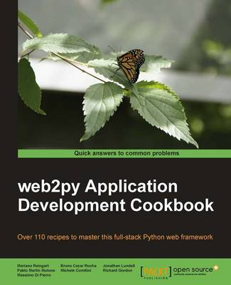 Web2py Application Development Cookbook (Paperback)
