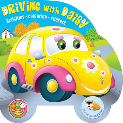 Driving with Daisy: Activities, Colouring, Stickers - Chunky Friends Activity 4 (Paperback)