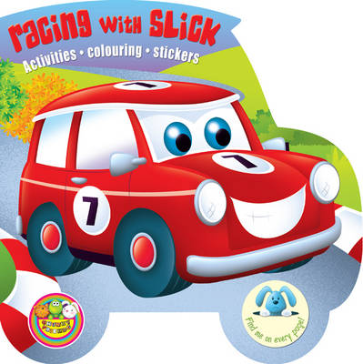 Chunky Friends Racing with Slick - Chunky Friends Activity No. 4 (Paperback)