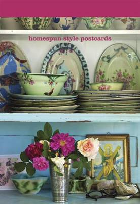 Homespun Style Postcard Book (Postcard book or pack)