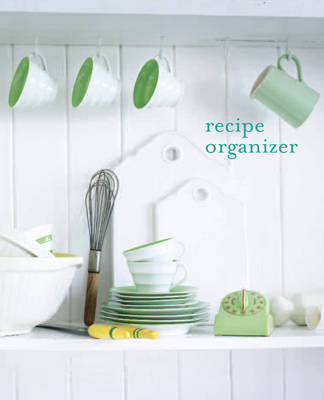Recipe Organizer (Record book)