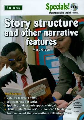 Secondary Specials! +CD: English - Story Structure (Mixed media product)