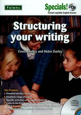Secondary Specials! +CD: English - Structuring Your Writing (Mixed media product)