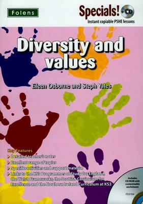Secondary Specials! +CD: PSHE - Diversity and Values (Mixed media product)