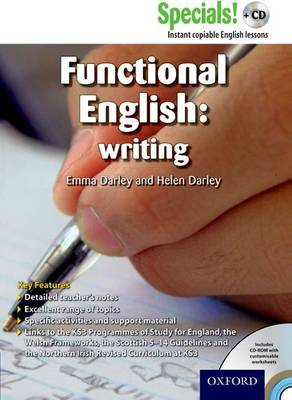 Secondary Specials! +CD: English - Functional English Writing (Mixed media product)