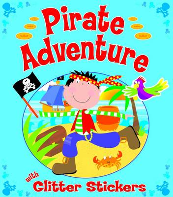 Glitter Pirates Sticker Book (Paperback)