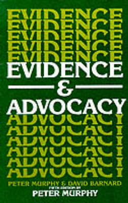 Evidence and Advocacy (Paperback)