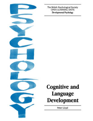 Cognitive and Language Development - Open Learning Units (Paperback)