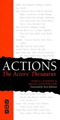 Actions: The Actor's Thesaurus (Paperback)
