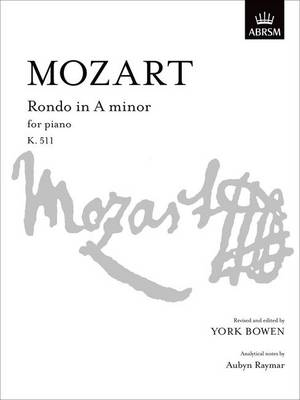 Rondo in A Minor, K. 511 - Signature Series (ABRSM) (Sheet music)