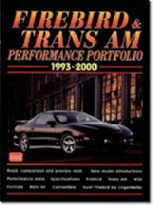 Firebird and Trans Am Performance Portfolio 1993-2000 - Performance Portfolio S. (Paperback)