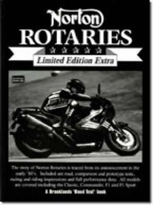 Norton Rotaries - Brooklands Road Test Limited Edition Extra S. (Paperback)
