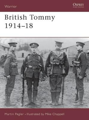The British Tommy 1914-18 - Warrior S. No. 16 (Paperback)