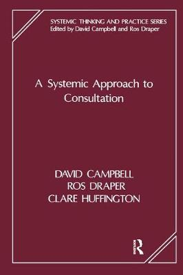 A Systemic Approach to Consultation - The Systemic Thinking and Practice Series - Work with Organizations (Paperback)