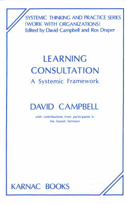 Learning Consultation: A Systemic Framework - The Systemic Thinking and Practice Series - Work with Organizations (Paperback)