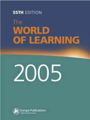 World of Learning 2005 (Hardback)