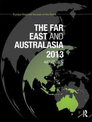 The Far East and Australasia 2013 (Hardback)