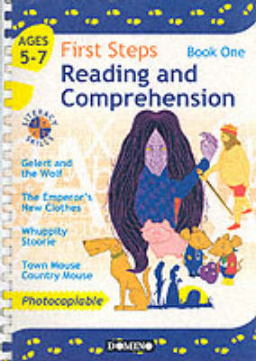First Steps: Book 1: Developing Literacy Skills - Reading and Comprehension for 5-7 Year Olds (Paperback)